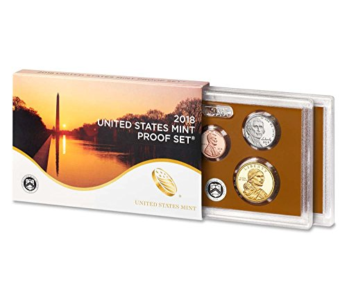 2018 S US Proof set Cameo Proof, Comes in Packaging from US mint Proof (2018 Coin Proof Set)