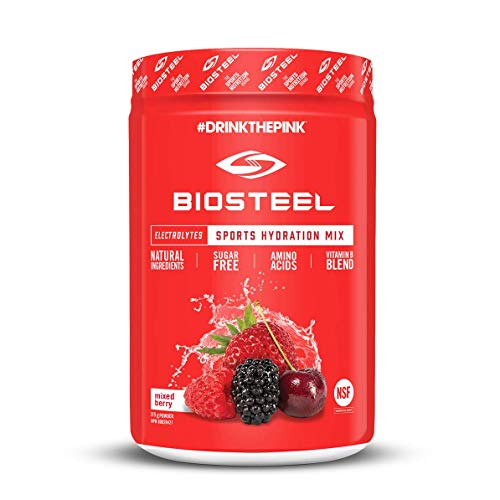 (Biosteel High Performance Sports Drink Powder, Naturally Sweetened with Stevia, Mixed Berry, 315 Gram)