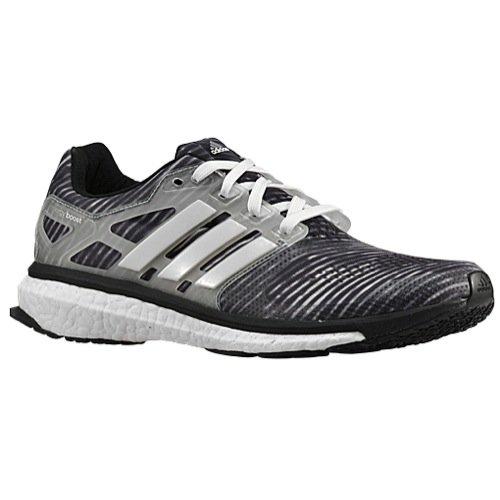Adidas Energy Boost Mens Running Shoe (8 D(M) US, Black/G...