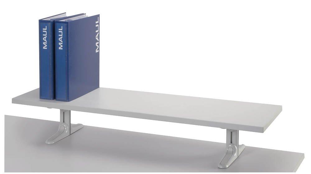 MAUL 8003082 - Mensola con piedini, rivestimento in melammina, lunghezza 100 cm