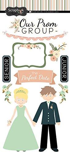 (Perfect Prom Cardstock Scrapbook Stickers)