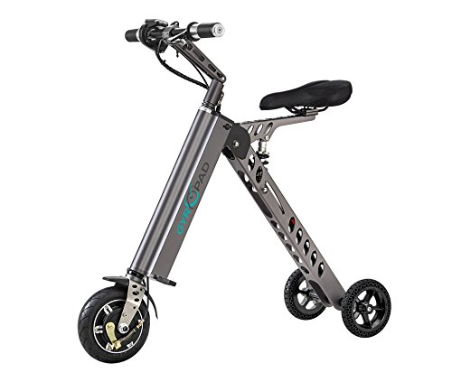 Gyropad GyroTricycle Portable Foldable Light Weight Electric Bike (Large Image)