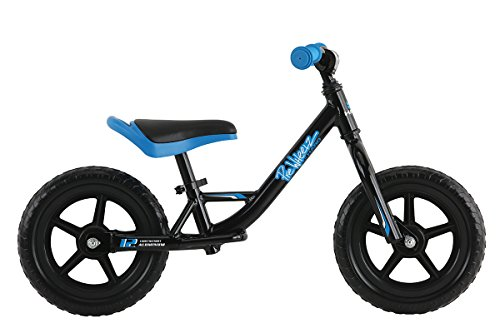 Haro Bikes Prewheelz 12 Balance Bike, Black