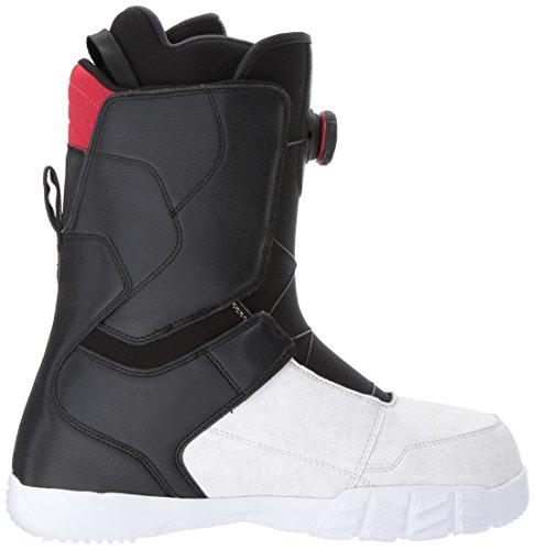 DC Men's White Snowboard Black Scout Boots 66ZrTnUxdq