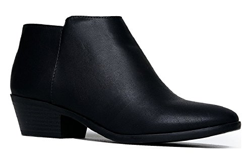 OLIVIA Western Boots Low Bootie Comfortable Walking product image