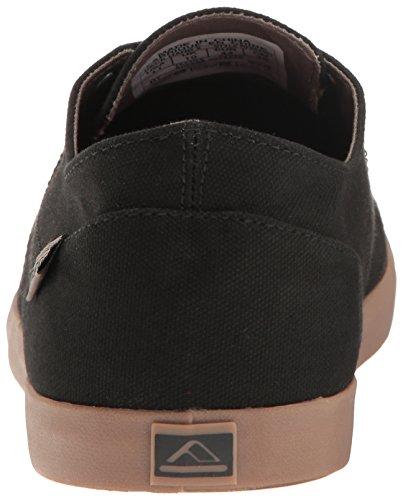 Reef Mens Deck Hand 2 Fashion Sneaker Black/Gum RpYD0KBSO