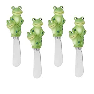 Frog Cheese Spreader Set of 4 (Bulk)