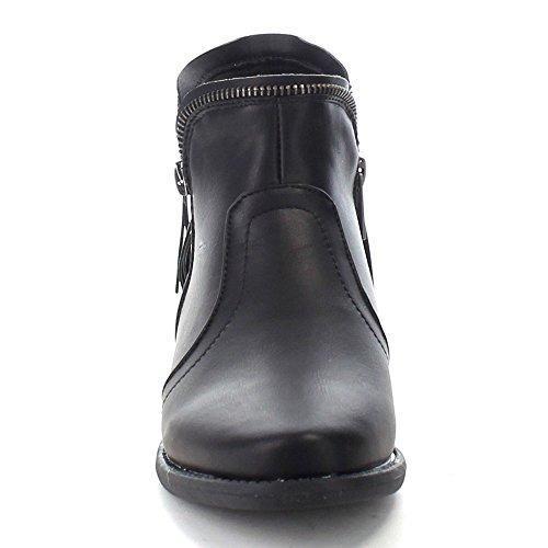 Stivaletti Alla Caviglia Da Donna Delle Case Delle Bambole Nero