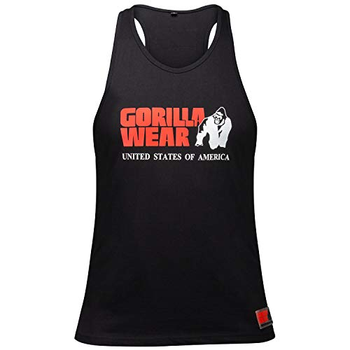 GORILLA WEAR – Herren Gym Shirt – Classic Stringer Tank Top – S bis 3XL Bodybuilding Fitness Muskelshirt