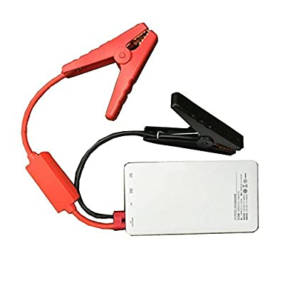 Protal Car Jump Starter 500A Peak 6000mA Mobile Power Battery Outdoor Car Ignition Emergency Start Phone Charger with LED Flashlight