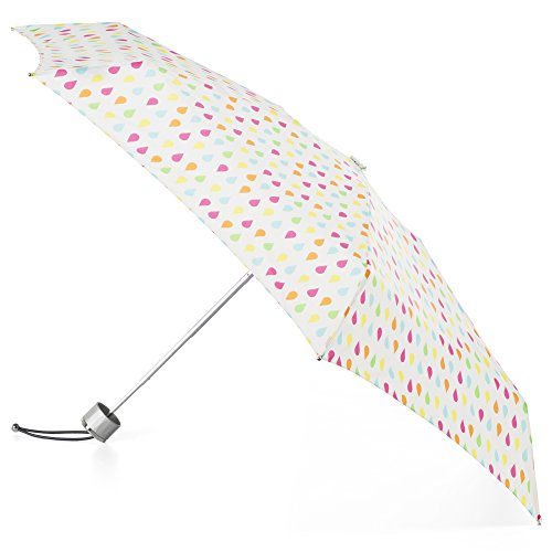 totes Compact Water Resistant Foldable Umbrella