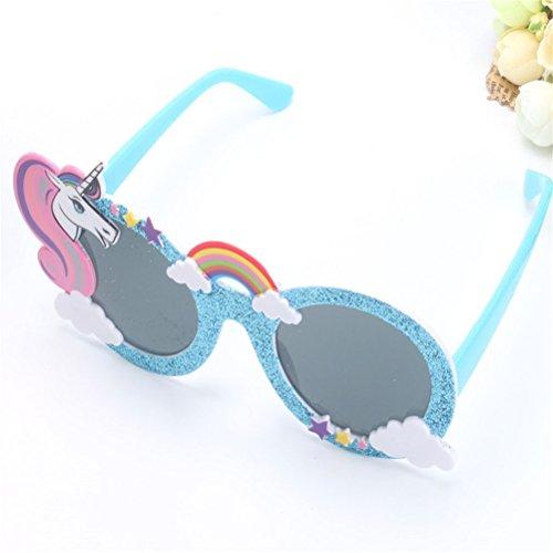 disfraces Gafas la para partido Atrezzo Accesorios Night decoración Good Gafas del de Unicornio sol de SPCWax