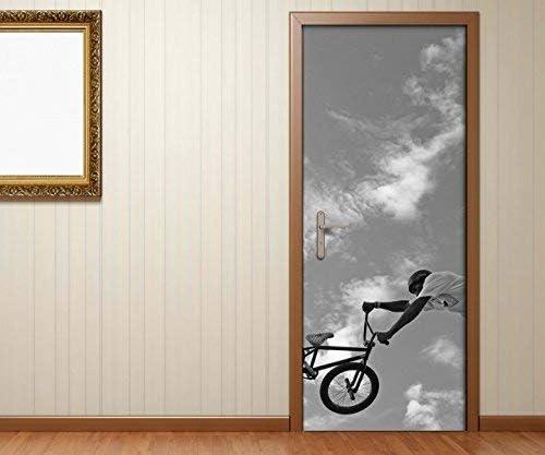 Pegatina de Puerta Bicicleta BMX Bicicleta de Montaña Sport Bike ...