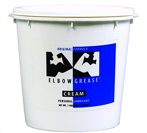 - Elbow Grease Premium Original Formula Oil Based Cream Lubricant : Size 128 Oz - 1 Gallon Bucket with Handle