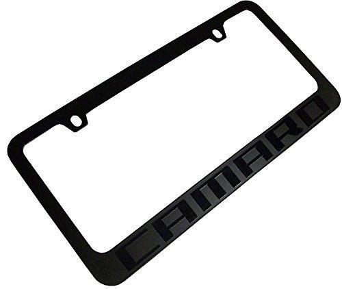 2010-2018 Chevrolet Camaro Stealth Blackout License Plate Frame