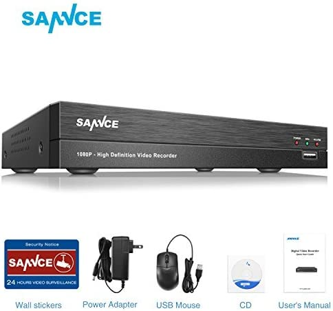 Sannce HD Digital Video Recorder with Real Time Recording and Playback