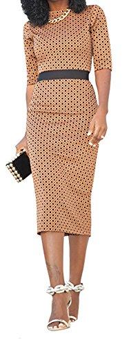 Buy long sleeve empire waist cocktail dress - 6