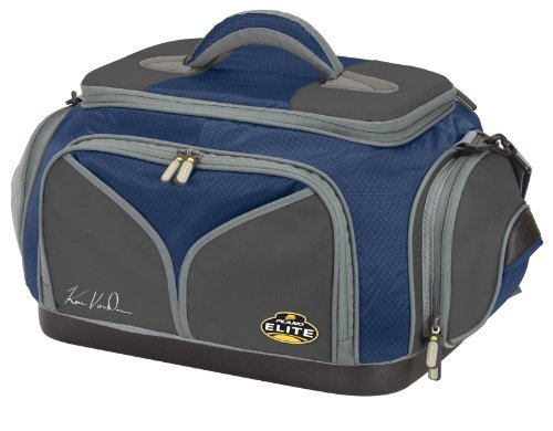 Plano 4870-40 Elite Kevin Van Dam Signature Series Tackle Bag with 5 Utilities, Blue/Gray by Plano