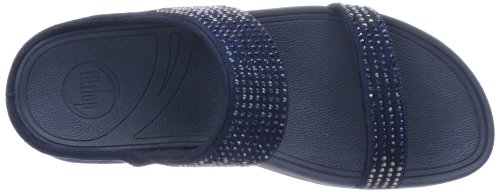 Flare Azul Sandalias Slide Mujer Fitflop RxdqwpPTR