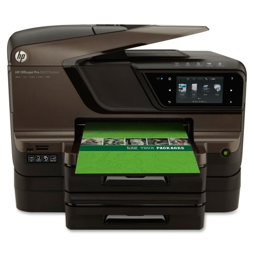 HP Officejet Pro 8600 N911N Inkjet Multifunction Printer - Color - Plain Paper Print - Desktop - Copier/Fax/Printer/Scanner - 35 ppm Mono/35 ppm Color Print - 20 ppm Mono/16 ppm Color Print (ISO) - 4800 x 1200 dpi Print - 35 cpm Mono/35 cpm Color Copy - Touchscreen - 4800 dpi Optical Scan - Automatic Duplex Print - 250 sheets Input - Ethernet - Wireless LAN - USB