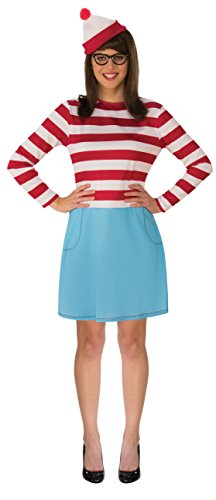 Wenda Costumes - Rubie's Women's Where's Waldo Wenda Costume,