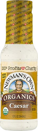 (Newman's Own Organics Caesar Salad Dressing, 12-oz.)