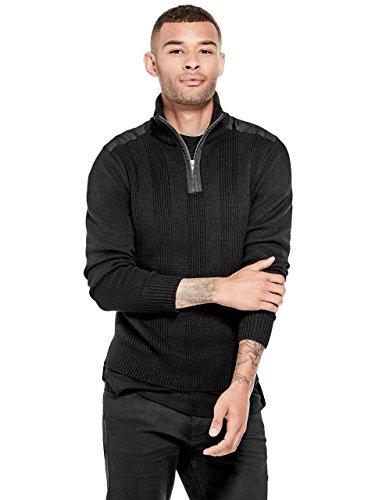 discount G by GUESS Men's Nacio Zip Pullover
