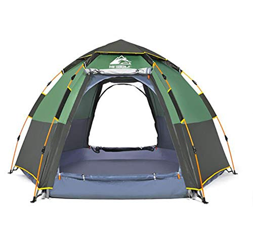 DUABOBAO 5-8 Zelte, Automatische Multi-Person-Pop-Up-Zelte, Geeignet Für Das Überleben In Freier Wildbahn, Angeln, Abenteuer, Windcamping, Camping, Familienurlaub,