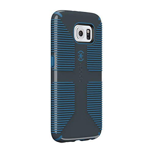 best sneakers 512c7 49c36 Speck CandyShell Grip for Samsung Galaxy S6 - Charcoal Gray/Harbor Blue