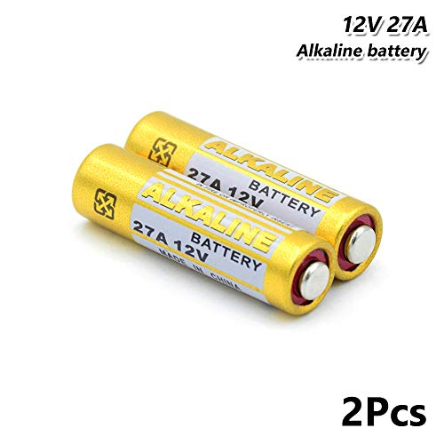 2pcs 27a a27 l828 vr27 mn27 Alkaline Battery 12v for Alarm car Remote doorbell