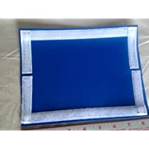 """Fishing Gear & Bait,Tackle & Lure Covers & Pole Wraps(Blue)6.5x8.5""""=3""""x8"""" usable size"""
