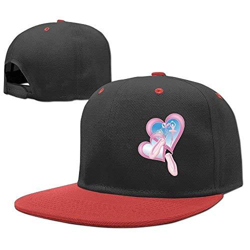 RGFJJE Gorras béisbol Baseball Caps Hip Hop Hats Ballerina Sweetheart Boy-Girls