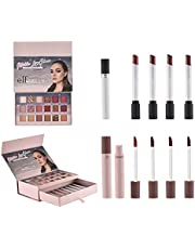 E.I.F Makeup Set Lipstick, Lip Gloss and Eye Shadow, Multicolor Cosmetic Gift Set - Best Quality - New Design, Long Lasting