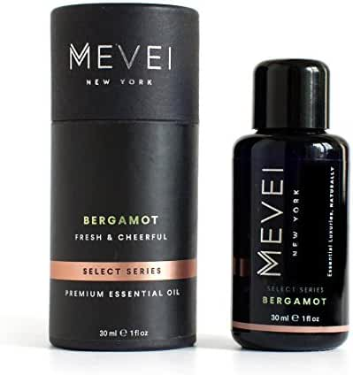 MEVEI | BERGAMOT Luxury Essential Oil - Fresh & Cheerful | 100% Pure & Natural (1 fl oz/30 ml)