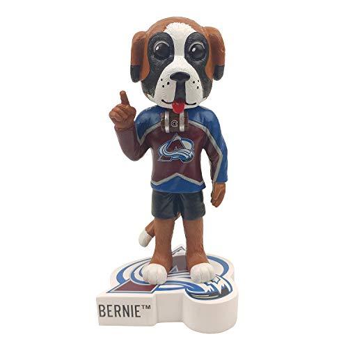 Kollectico Bernie Mascot Colorado Avalanche Bobblehead Bobble Figure
