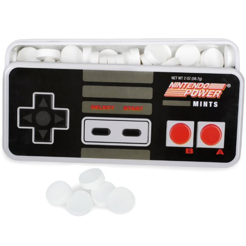 Nintendo Power Mints Display, Peppermint, 2 oz ()