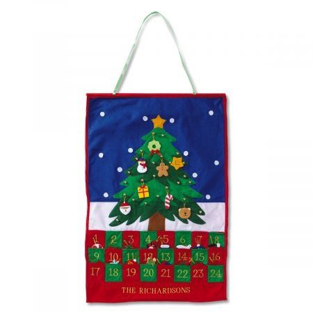 Lillian Vernon Christmas Tree Personalized Countdown Calendar -