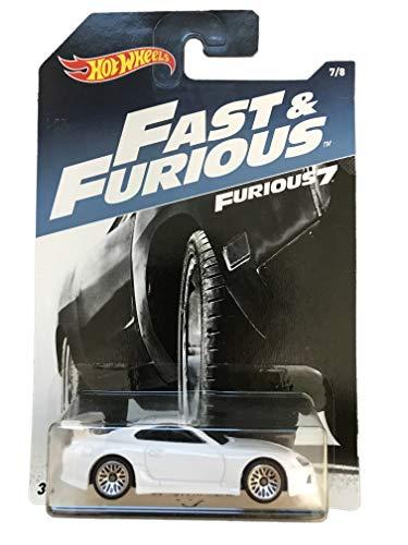 Mattel Hot Wheels Fast & Furious 7 White 94 Toyota Supra 7/8 (Toyota Supra Hot Wheels Fast And Furious)