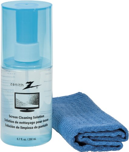 AmerTac - Zenith CS1001SCRCLR Screen Cleaning Solution with