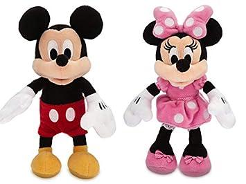 Mickey Disney Set E Pequeño 20cmAmazon Mouse Peluche Minnie HEID29