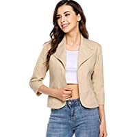 dec067c19ac Best Short Sleeve Blazers For Women Reviews and Comparison on ...