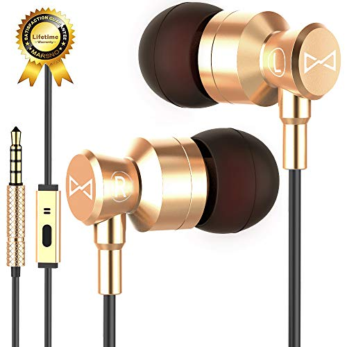 Marsno M1 Wired Metal in Ear Headphones