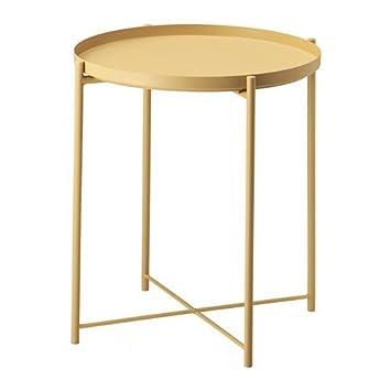 Ikea gladom Bandeja Mesa en Color Amarillo Claro; (45 x 53 cm): Amazon.es: Hogar