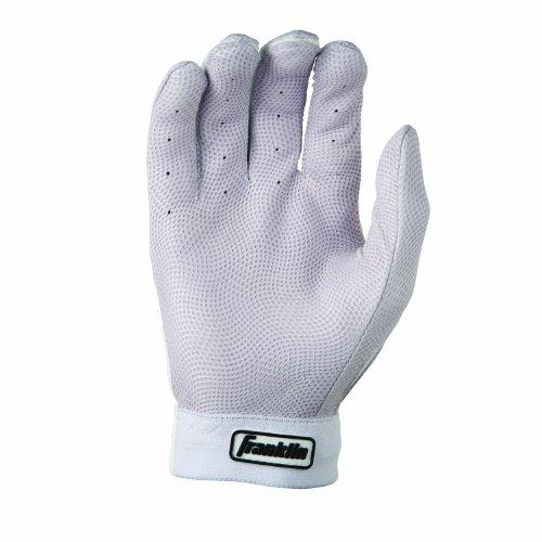 Franklin Sports MLB Adult Neo Classic II Series Batting Glove (White, Large)