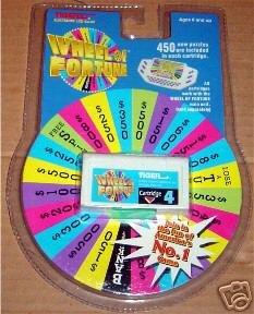 Wheel Of Fortune Cartridge #4 (Black Tiger Wheels)