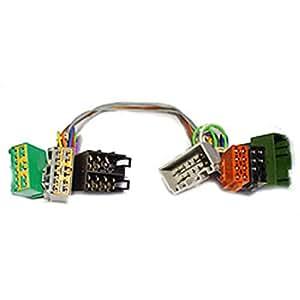 KRAM ISO2CAR Mute-Adapter Volvo S60/S80/V70 (2001) - Adaptador para cable (Macho/hembra, De plástico)