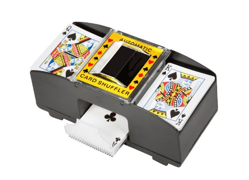 Trademark Innovations Card Deck Automatic Shuffler (Card 1 Deck Shuffler)