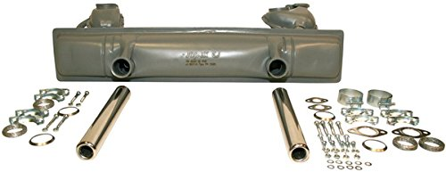 (JP Exhaust System Full Set Rear Fits VW Beetle Cabrio 113251053L)