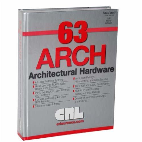 CRL63 Architectural Hardware Master Catalog (#3 of 5 Master Catalogs)