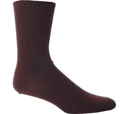 Diabetic Seamfree Socks (Wigwam Diabetic Walker,Black,LG)